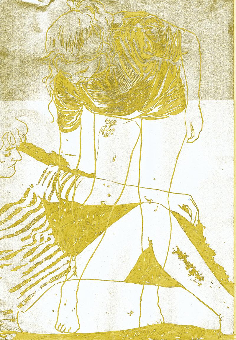 skin drawing